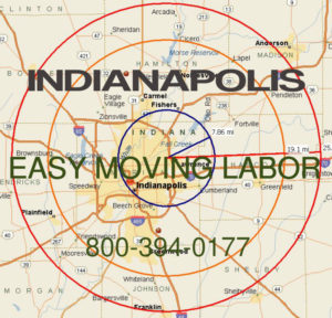 Hire pro Indianapolis moving help to load and unload for your move.