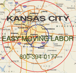 Hire pro Kansas City moving help to load and unload for your move.