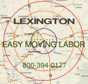 Hire pro Lexington moving help to load and unload for your move.