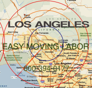 Hire pro Los Angeles moving help to load and unload for your move.