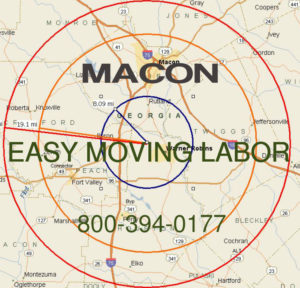 Hire pro Macon moving help to load and unload for your move.