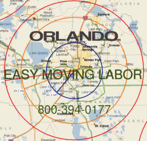 Hire pro Orlando moving help to load and unload for your move.