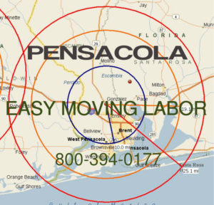 Hire pro Pensacola moving help to load and unload for your move.