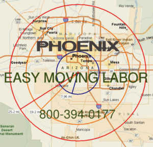 Get pro Phoenix moving labor to help load and unload for your move.
