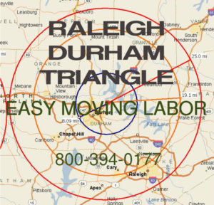 Hire local pro Raleigh Durham moving help.