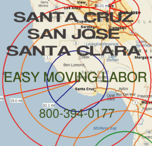 Hire pro San Jose moving help to load and unload for your move.