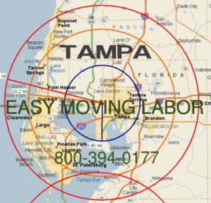 Hire pro Tampa moving help to load and unload for your move.