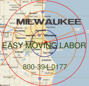 Hire pro Milwaukee moving labor help.